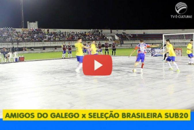 Seleção Brasileira de Futsal em Itabaiana
