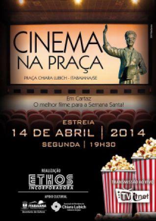 Convide todos seus amigos para o Cinema na Praça
