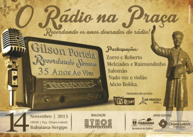 Dia 14 tem Rádio na Praça Chiara Lubich